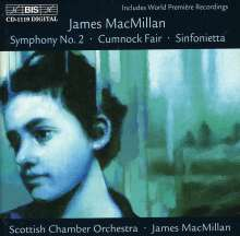 James MacMillan (geb. 1959): Symphonie Nr.2, CD