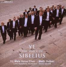 YL Male Voice Choir - The Voice of Sibelius, CD
