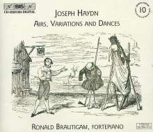 Joseph Haydn (1732-1809): Airs,Variations & Dances, 3 CDs