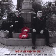 James Rutherford - Most Grand To Die, SACD