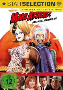 Mars Attacks!, DVD
