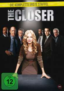 The Closer Season 1, 4 DVDs