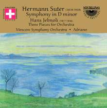 Hermann Suter (1870-1926): Symphonie in d op.17, CD