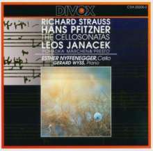 Hans Pfitzner (1869-1949): Cellosonate in fis op.1, CD