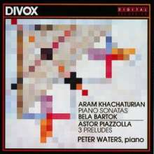Peter Waters,Klavier, CD