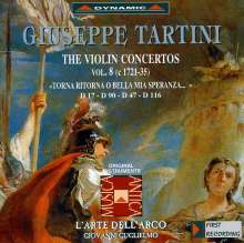 Giuseppe Tartini (1692-1770): Violinkonzerte Vol.8, CD