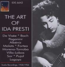 Ida Presti - The Art of, CD