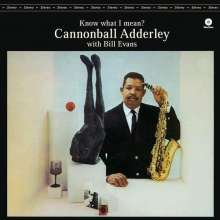 Julian 'Cannonball' Adderley  (1928-1975): Know What I Mean? (180g) (Limited Edition), LP