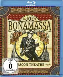 Joe Bonamassa: Beacon Theatre: Live From New York, Blu-ray Disc