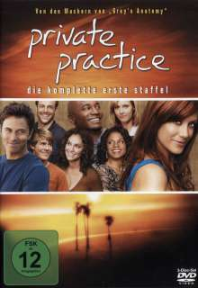 Private Practice Season 1, 3 DVDs