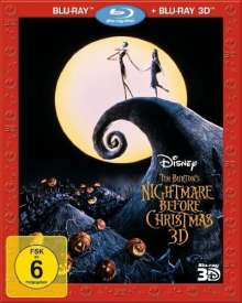 Nightmare Before Christmas 2D & 3D (Blu-ray), 2 Blu-ray Discs