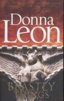 Donna Leon: Beastly Things, Buch