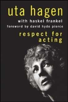Uta Hagen: Respect for Acting, Buch