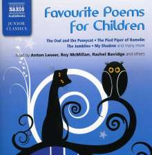 Favourite Poems For Children, CD