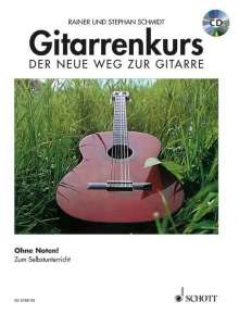 Gitarrenkurs. Inkl. CD, Noten