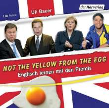 Ulrich Bauer: Not the yellow from the egg, CD