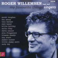 Roger Willemsen legt auf: My Favourite Things: Singers, CD