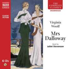 Juliet Stevenson: Virginia Woolf: Mrs Dalloway, 6 CDs