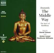 The Middle Way: The Story of Buddhism, 3 CDs