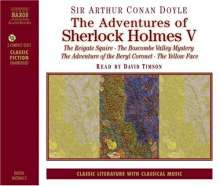 The Adventures of Sherlock Holmes V, CD