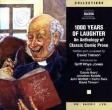 Timson,David:1000 Years of Laughter (in engl.Spr.), 4 CDs