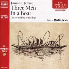 Jerome,Jerome K.:Three Men in a Boat (in engl.Spr.), 6 CDs