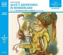 Alice's Adventures in Wonderland, 3 CDs