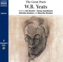 The Great Poets - W.B.Yeats, CD