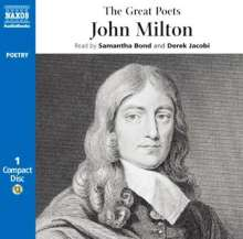 Great Poets - John Milt, CD