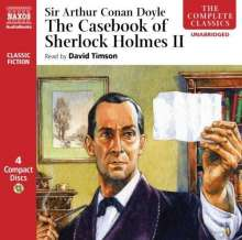 The Casebook of Sherlock Holme, 4 CDs