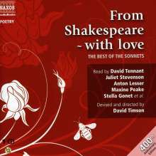 William Shakespeare: From Shakespeare with Love: The Best of the Sonnets, CD