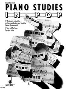 Piano Studies in Pop, Noten