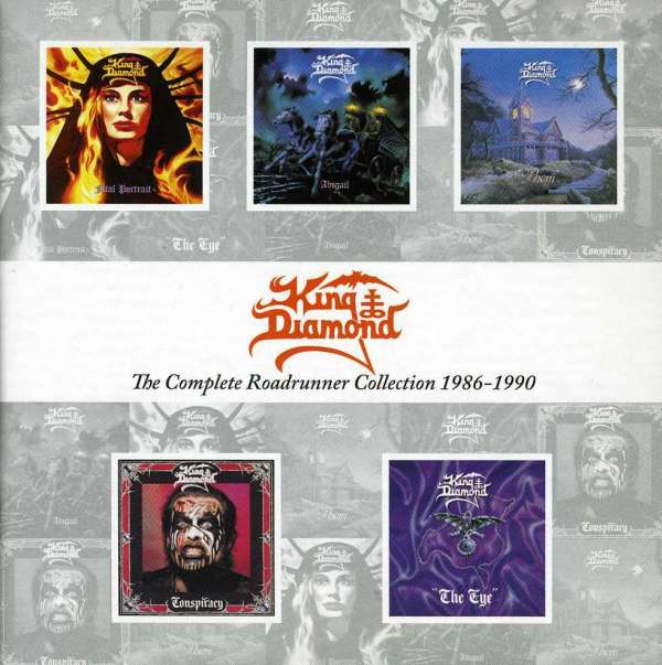 KING DIAMOND - The Complete Roadrunner Collection 1986-1990 - CD x 5