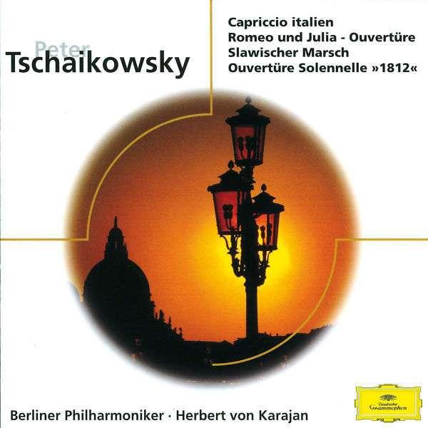 BERLINER PHILHARMONIKER • HERBERT VON KARAJAN • PE - Capriccio Italien • Romeo Und Julia - Ouvertüre • Slawischer Marsch • Ouvertüre Solennelle >>1812<< - CD