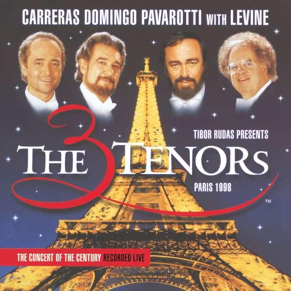 JOSÉ CARRERAS , PLACIDO DOMINGO , LUCIANO PAVAROTT - The Three Tenors In Paris - CD