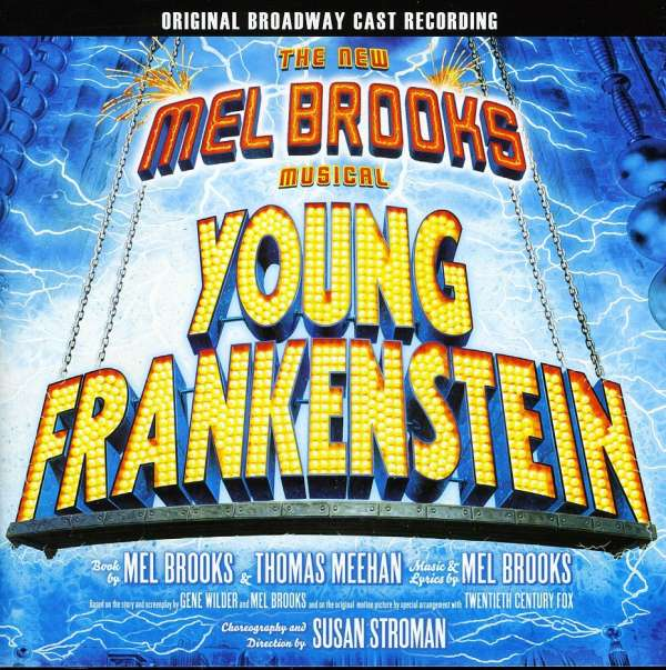 VARIOUS - The New Mel Brooks Musical Young Frankenstein - Original Broadway Cast Recording - CD
