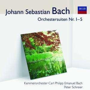 bach - J. S. Bach : les suites pour orchestre 0028948002771