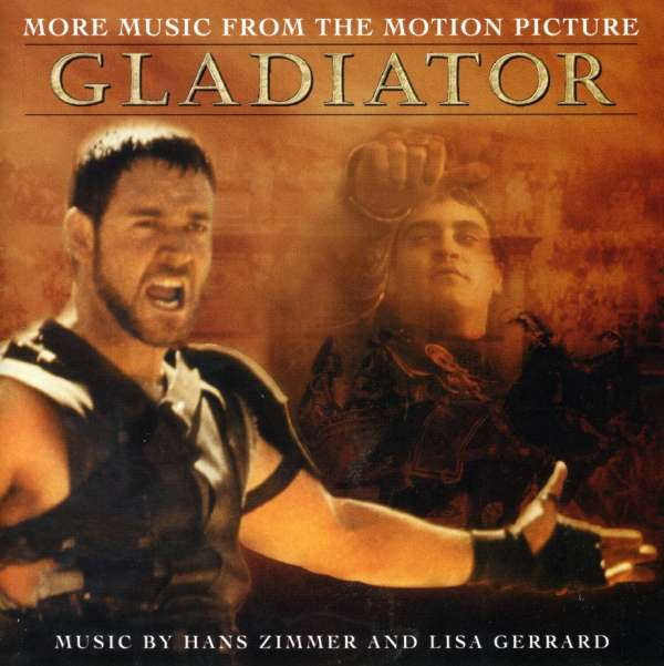 HANS ZIMMER AND LISA GERRARD - Gladiator: More Music From The Motion Picture - CD