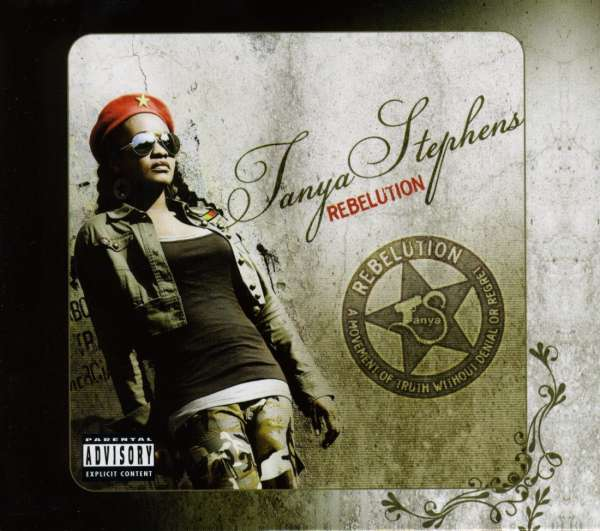 TANYA STEPHENS - Rebelution - DVD + 2CD