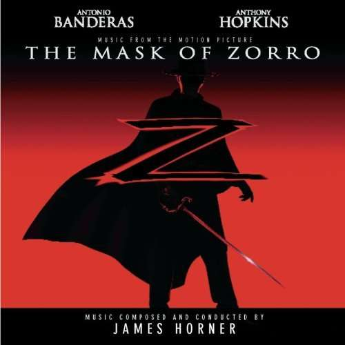 JAMES HORNER - The Mask Of Zorro (Music From The Motion Picture) - CD