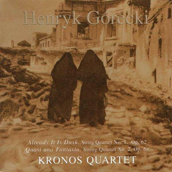 HENRYK GÓRECKI , KRONOS QUARTET - String Quartets 1, 2 - CD