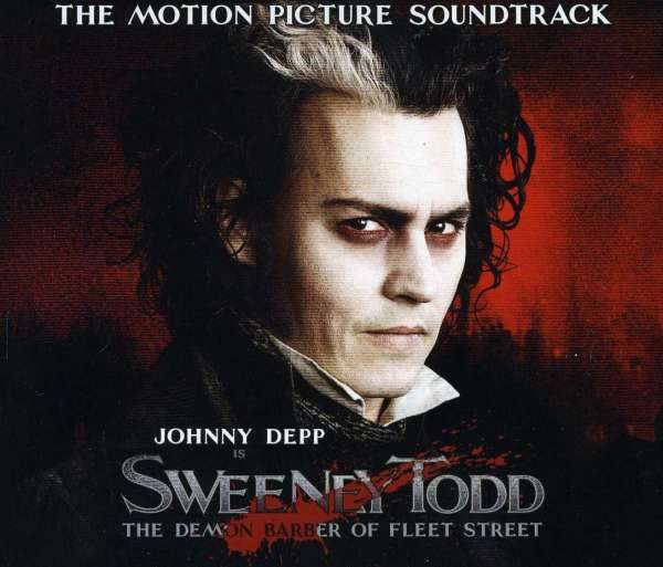 STEPHEN SONDHEIM - Sweeney Todd: The Demon Barber Of Fleet Street (The Motion Picture Soundtrack) - CD