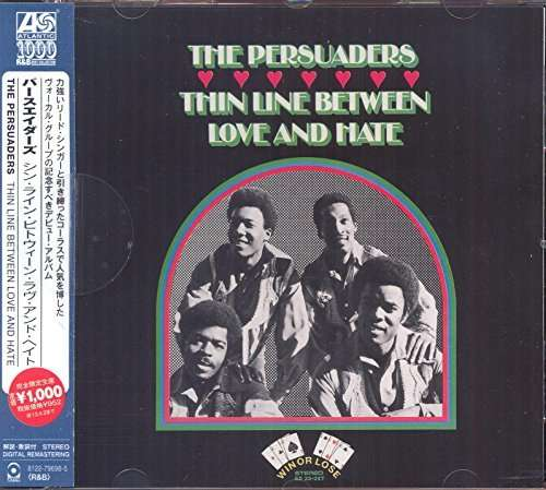 PERSUADERS, THE - Thin Line Between Love And Hate - CD