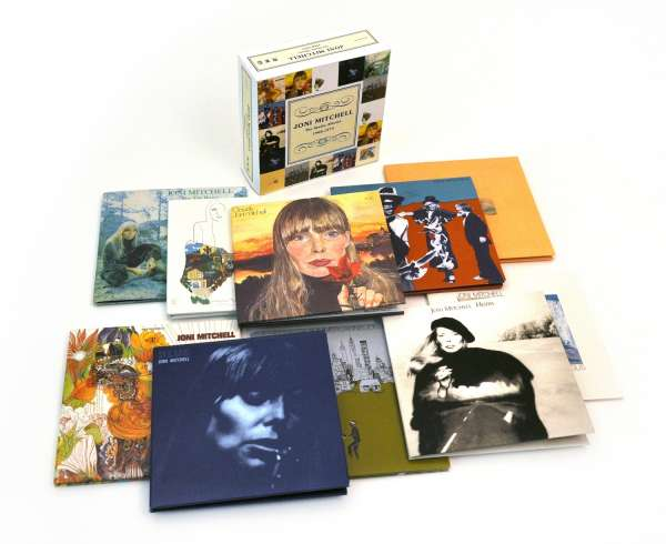 JONI MITCHELL - The Studio Albums 1968-1979 - CD Box Set