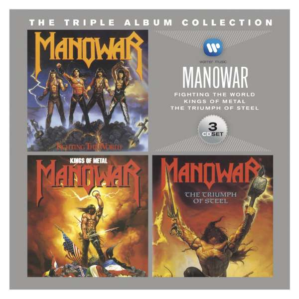 MANOWAR - The Triple Album Collection - Coffret CD