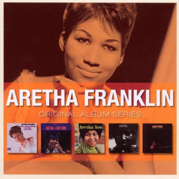 ARETHA FRANKLIN - Original Album Series (5cd)