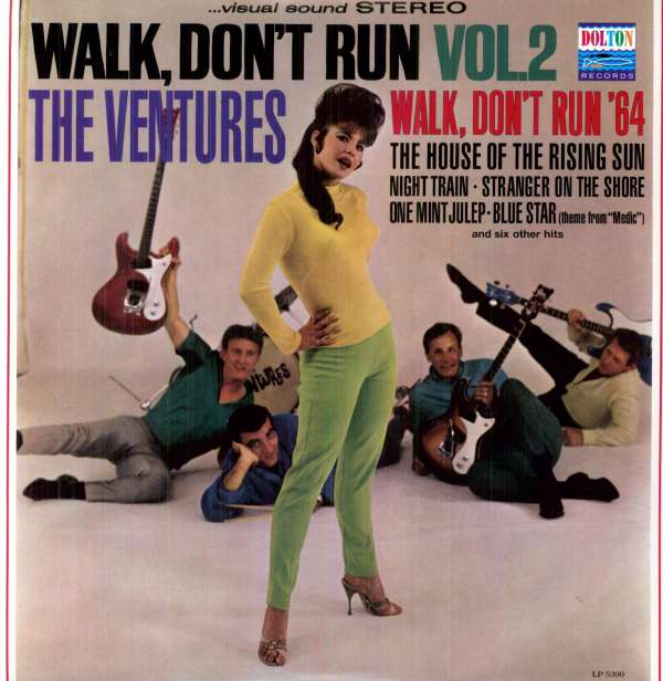 Ventures Walk Don't Run Ventures The Walk Don't Run