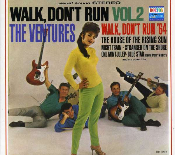 Ventures Vol 2 Walk Don T Run Cd Jpc