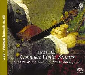 Haendel - Haendel les sonates pour violon et bc 0093046625924