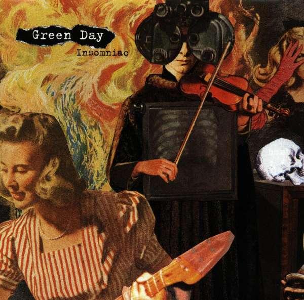 Album INSOMNIAC by GREEN DAY on CDandLP